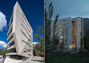 طراحی ساختمان مسکونی میگون تهران