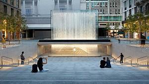 طراحی شعبه جدید فروشگاه تجاری اپل میلان