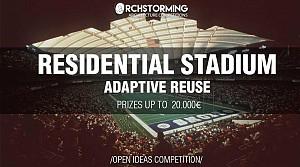 مسابقه معماری تلفیق  استادیوم های ورزشی به مجتمع های مسکونی