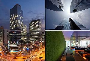 طراحی برج های اداری سامسونگ در سئول