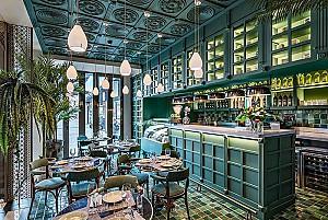 طراحی رستوران کلاسیک اسپانیایی به سبک بازگشت به دوران مستعمرات