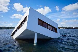 غرق شدن ویلا ساوا لوکوربوزیه در یکی از بنادر دانمارک