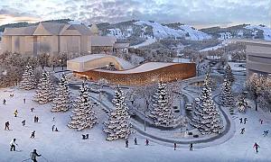 طراحی ساختمان مدیریت المپیک زمستانی 2022 چین