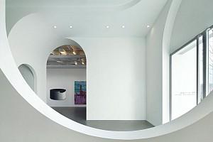 طراحی گالری با سیرکولاسیونی از قوس ها