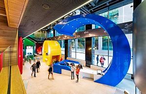 طراحی شاد و با روحیه ساختمان اداری گوگل