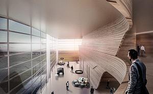 اتاق بازرگانی همدان توسط گروه معماری UDA