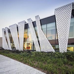 ۳۵ طراحی نمای بیرونی ساختمان با رویکرد غیر متعارف