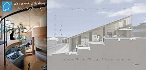 50 پلان خانه های مسکونی با فضاهای پله ای