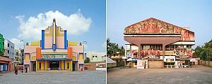 سالن های سینمای خیره کننده مدرن که فقط در جنوب هند می بینیم