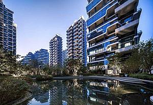 طراحی شهرک مسکونی لوکس در اکوسیستم گیاهی
