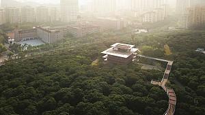 طراحی کتابخانه معاصر پارک فناوری چین با نیم نگاهی به معماری سنتی