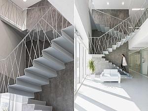 چه نرده هایی در راه پله ها می تواند الهام بخش پروژه شما باشد؟