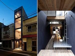 چطور یک خانه در زمینی با عرض کم طراحی کنیم؟