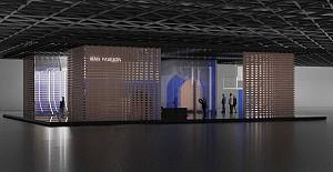 چهار باغ گردشگری ايران  پروژه گروه معماران آرل  در نمايشگاه های گردشگری بين المللی