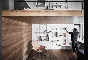 طراحی داخلی آپارتمان در 40 متر مربع