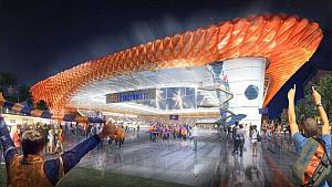 طراحی ورزشگاه 26 هزارنفره سینسیناتی با سقف ETFE