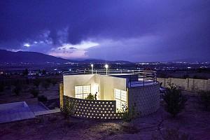 طراحی خانه حلزونی دارنگون شیراز