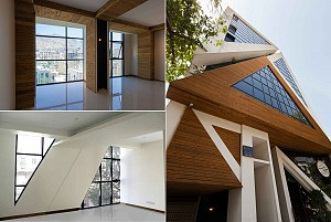 طراحی ساختمان اداری تجاری فلش آفیس / Things Studio