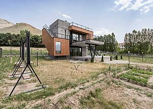 طراحی ویلا V آذربایجان غربی/آتلیه معماری مکعب سفید