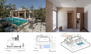 ویلا جلال آباد / حجم سبز / تقدیر شده در جایزه معمار 97