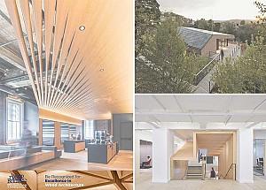 آغاز ثبت نام مسابقه معماری ساختمان های چوبی 2018