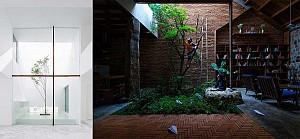 طرح 16 حیاط خلوت که هسته نور و تهویه پروژه شماست