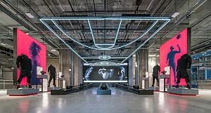 طراحی داخلی فروشگاه جدید آدیداس در NYC
