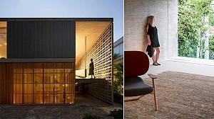 طراحی خانه B + B، زندگی در بازی نور و سایه