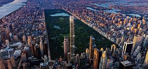 بلندترین برج مسکونی جهان در پارک مرکزی نیویورک