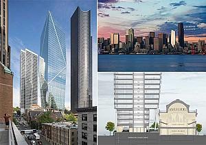 طراحی برج Mark: ساختمانی برای خط آسمانه جدید و حفظ هویت قدیمی سیاتل