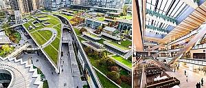 طراحی مجتمع تجاری بزرگ دره سبز