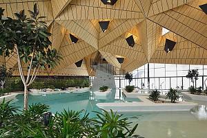 طراحی و بازسازی مرکز توانبخشی آبدرمانی
