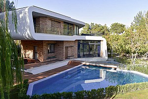 طراحی عمارت ویلایی زیبادشت کرج