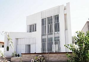معماری  و طراحی داخلی ویلای سفید / آرش خداداد