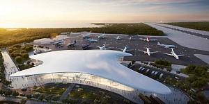 طراحی فرودگاه پایدار روسیه توسط استودیو معماری فوکساس