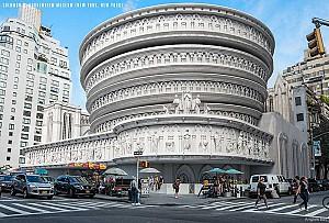 اگر مشهورترین ساختمان های نیویورک به سبک گوتیک طراحی می شدند...