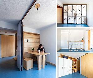 چگونه یک آپارتمان 65 متری را طراحی و بازسازی میکنیم؟