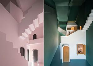طراحی هتل رویایی مارپیچ با تاثیر از آثار موریس اَشِر