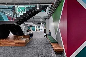 طراحی داخلی دفتر کار سیسکو
