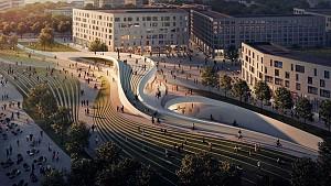 زاها حدید و A-Lab، برنده مسابقه طراحی ایستگاه متروی اسلو