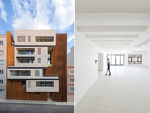 ساختمان مسکونی سالاریه/گروه معماری هرم