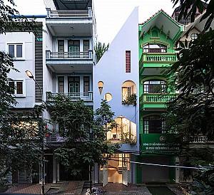 طراحی ساختمان مسکونی سه طبقه در اقلیم گرم و مرطوب