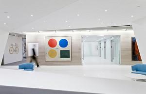 طراحی داخلی دفتر کار بورس و اوراق بهادر