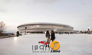 طراحی معماری  سالن ورزشی چندمنظوره آرنا