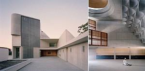 طراحی مسجد و مدرسه مذهبی مدرن