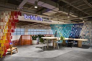 طراحی دفتر کسب وکار نوین در بزرگترین فروشگاه تجاری برزیل