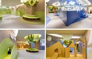معماری برای کودکان : فضایی برای افزایش تخیل و یادگیری