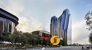 طراحی پلازا پارک Chaoyang، رویکردی کلاسیک در معماری باغ های چینی