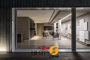 طراحی داخلی شوروم پوششهای داخلی و خارجی ساختمان