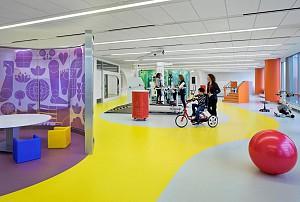 ایده طراحی مرکز توانبخشی کودکان و بزرگسالان